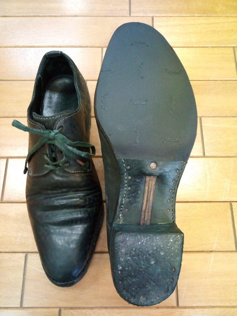 キャロル・クリスチャン・ポエルの靴のゴム半張りの靴修理