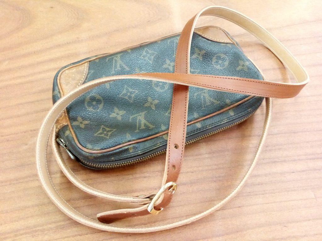 ヴィトンのセカンドバッグのリメイクの鞄修理