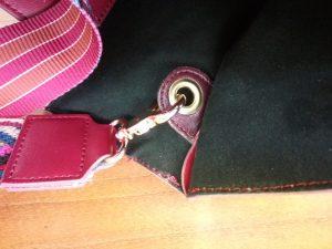 レディースバッグの持ち手補修の鞄修理