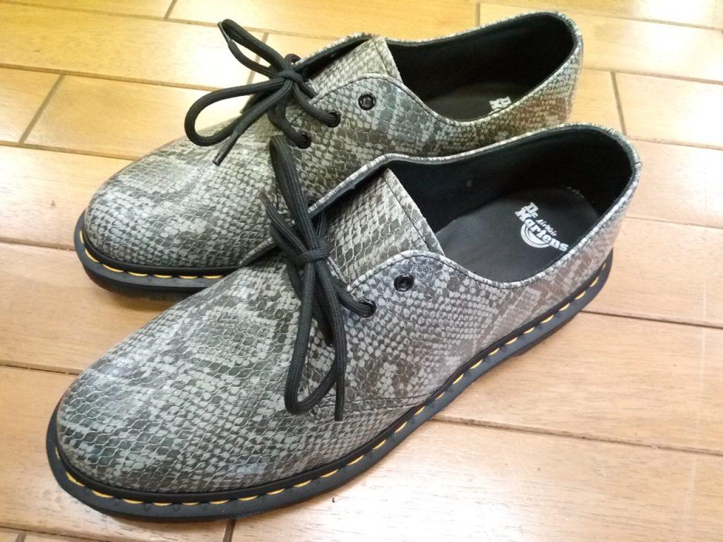 キツイ・小さい靴の幅出し靴修理51