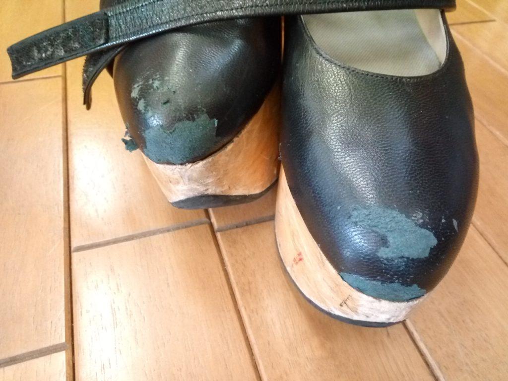 ヴィヴィアン・ウエストウッドのロッキンホース・バレリーナの靴修理