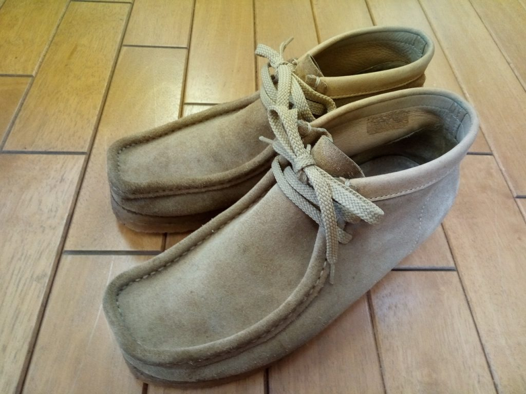 セダークレストのクレープソールの交換の靴修理