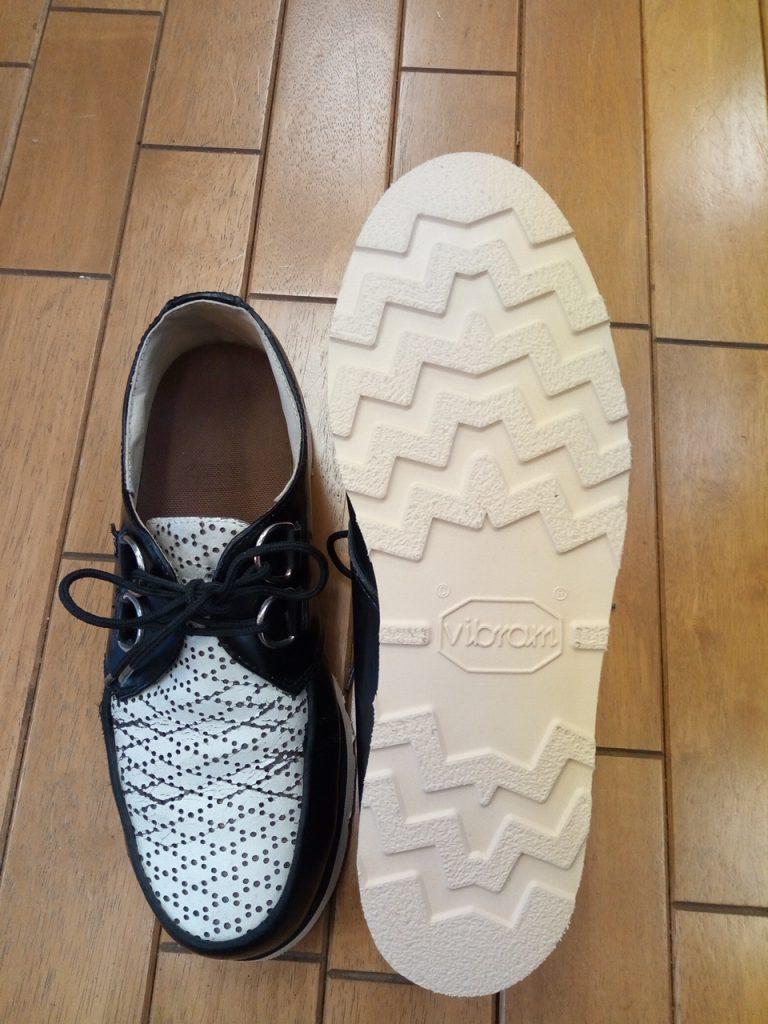 メンズシューズのオールソールの靴修理