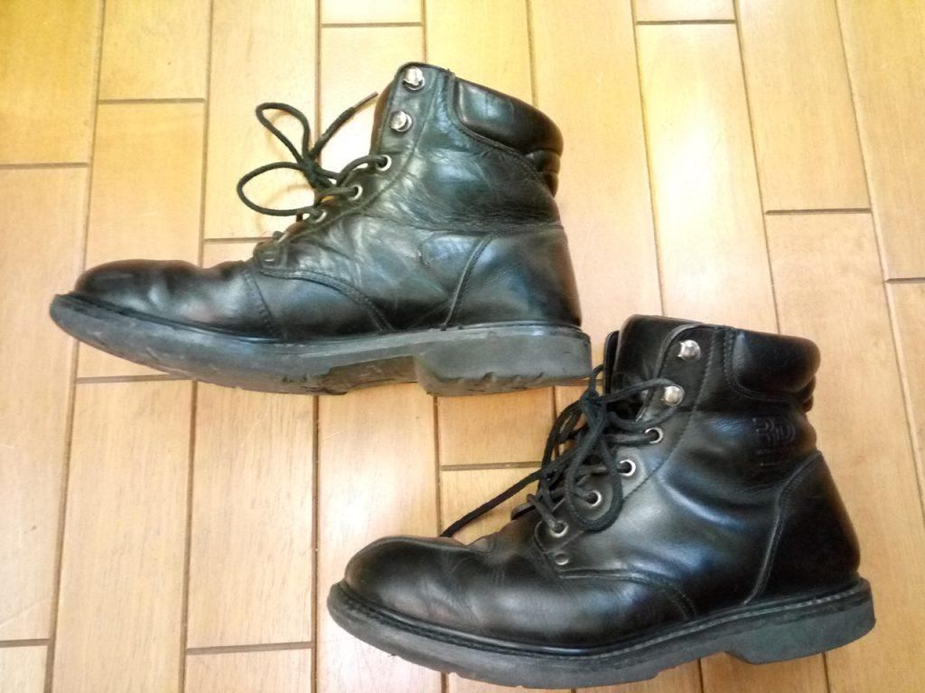 バイク・オートバイ用ブーツの修理11