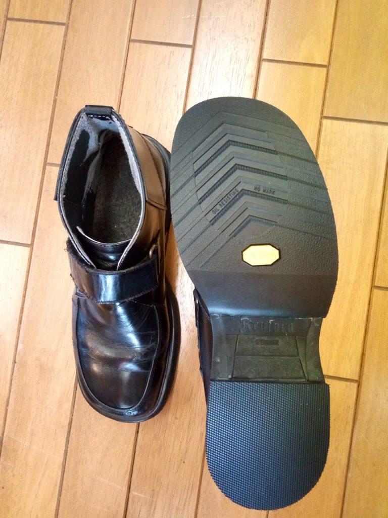 メンズブーツのソール補修&アッパー補修の靴修理
