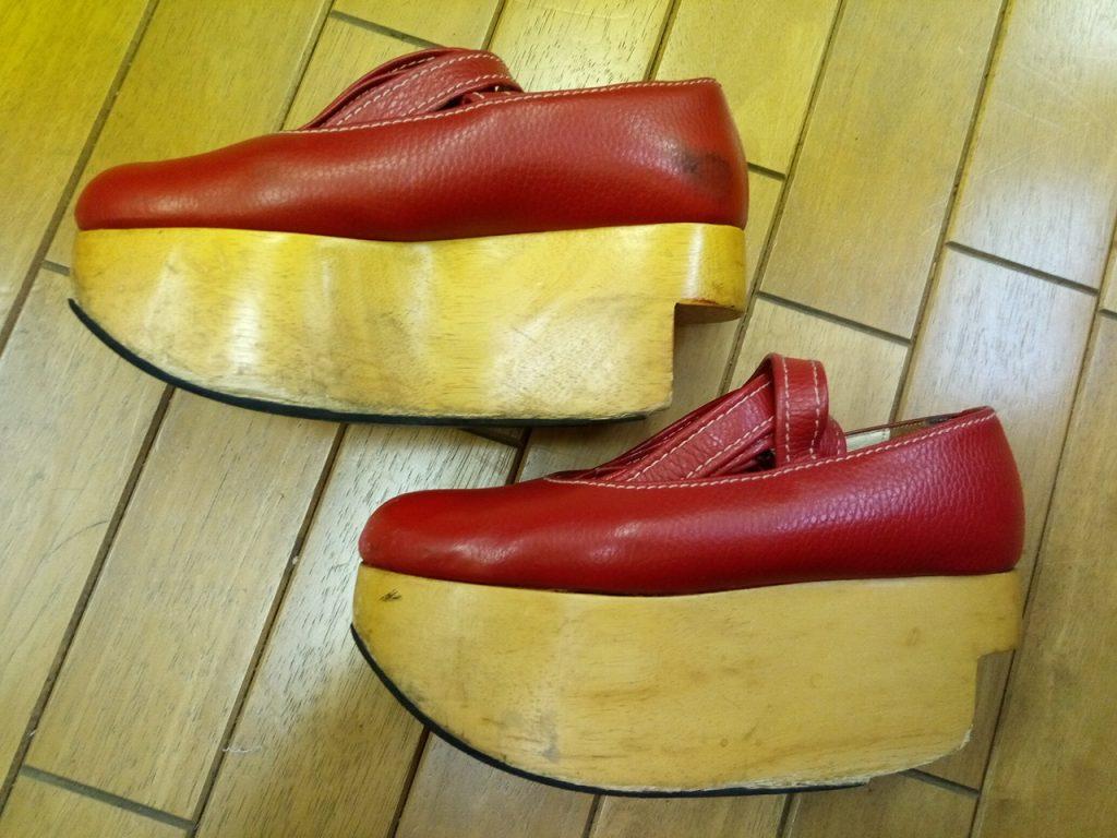 ヴィヴィアン・ウエストウッドのロッキンホース・バレリーナの靴修理3