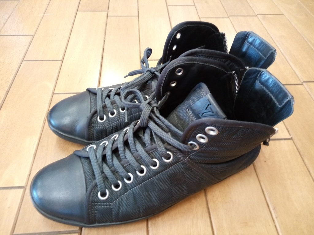 ルイ・ヴィトンの靴修理1