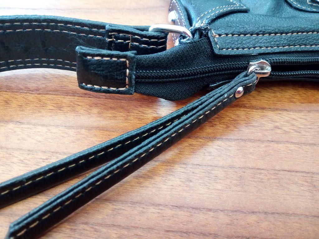 バッグのファスナースライダー&端処理の修理