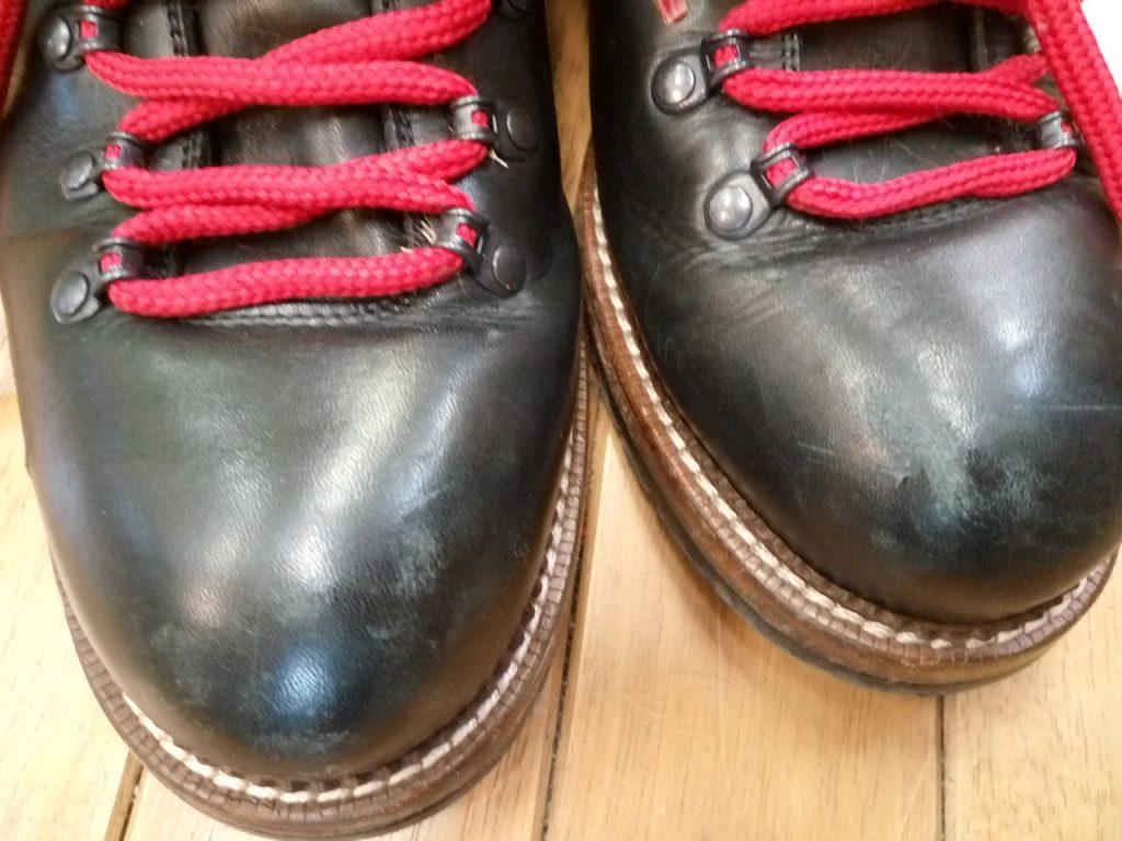 ルイ・ヴィトンの靴修理4