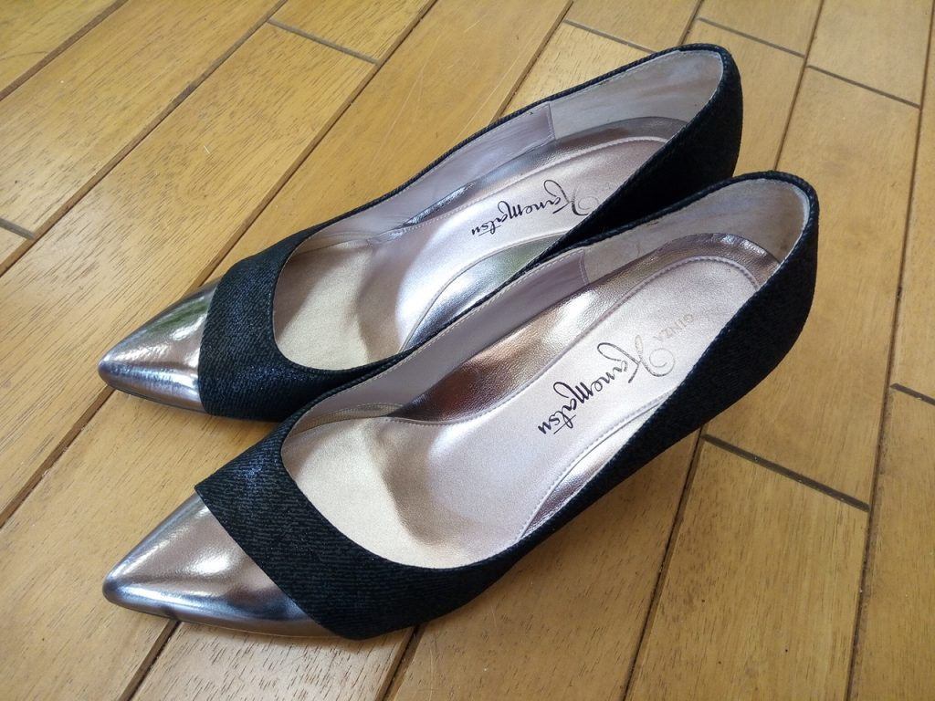 キツイ・小さい靴の幅出し靴修理59