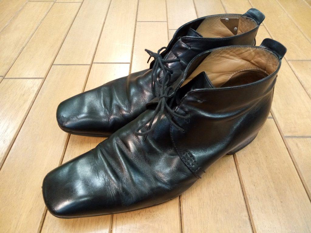 ルイ・ヴィトンの靴修理5
