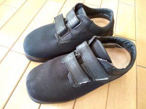 レディースシューズのマジックテープの靴修理