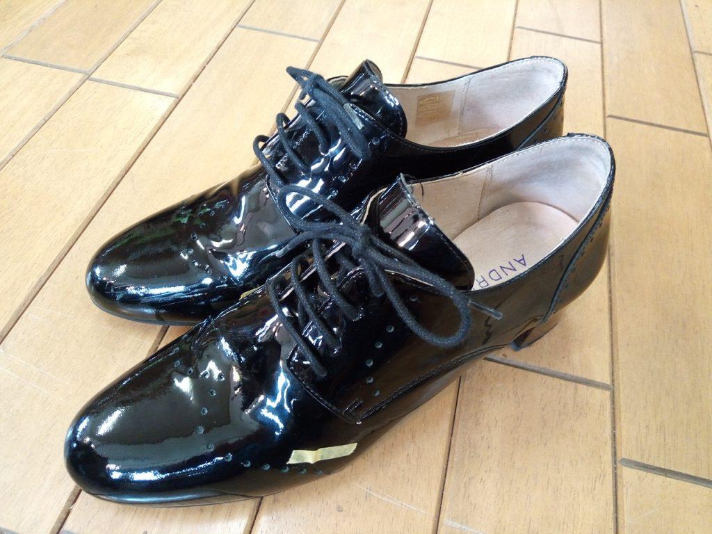 キツイ・小さい靴の幅出し靴修理63