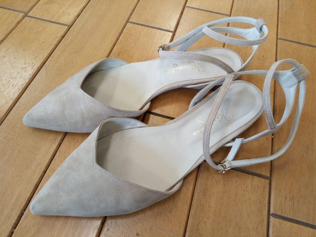 キツイ・小さい靴の幅出し靴修理62