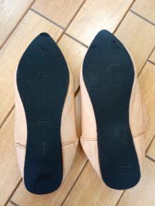 バブーシュの靴修理