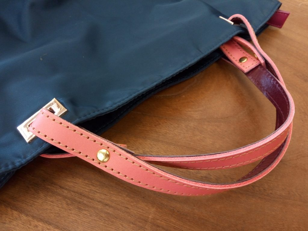 レディース・バッグの持ち手交換の鞄修理