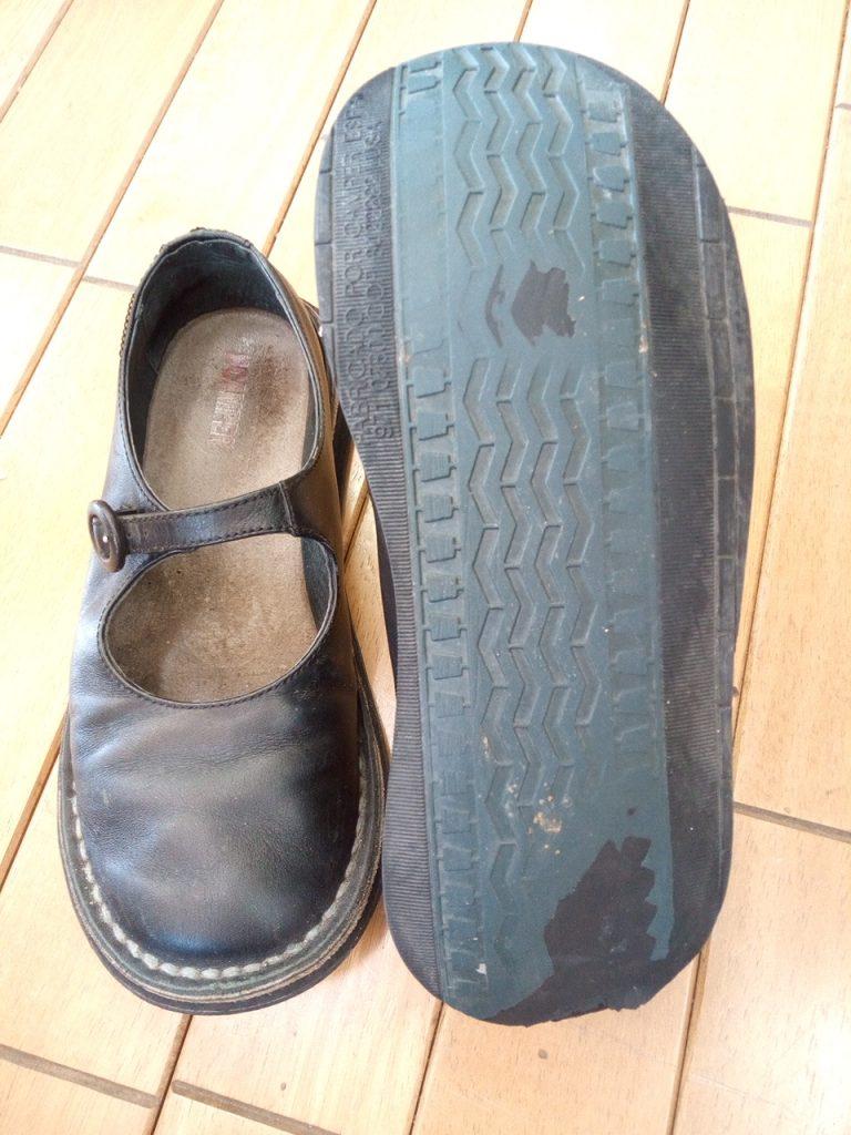 CAMPERの靴修理6