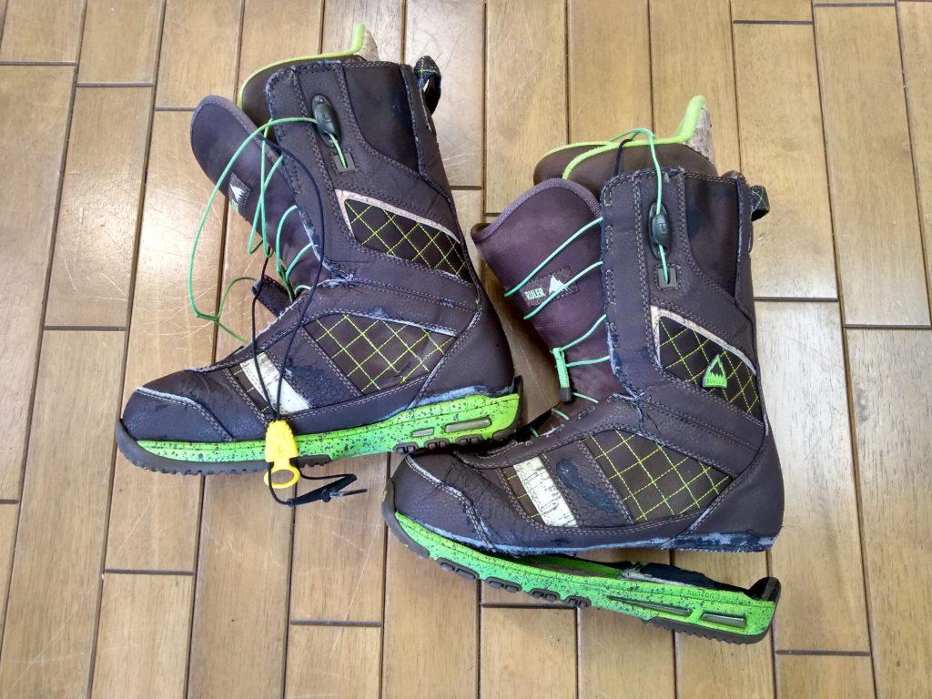 バートンのスノボブーツの靴修理