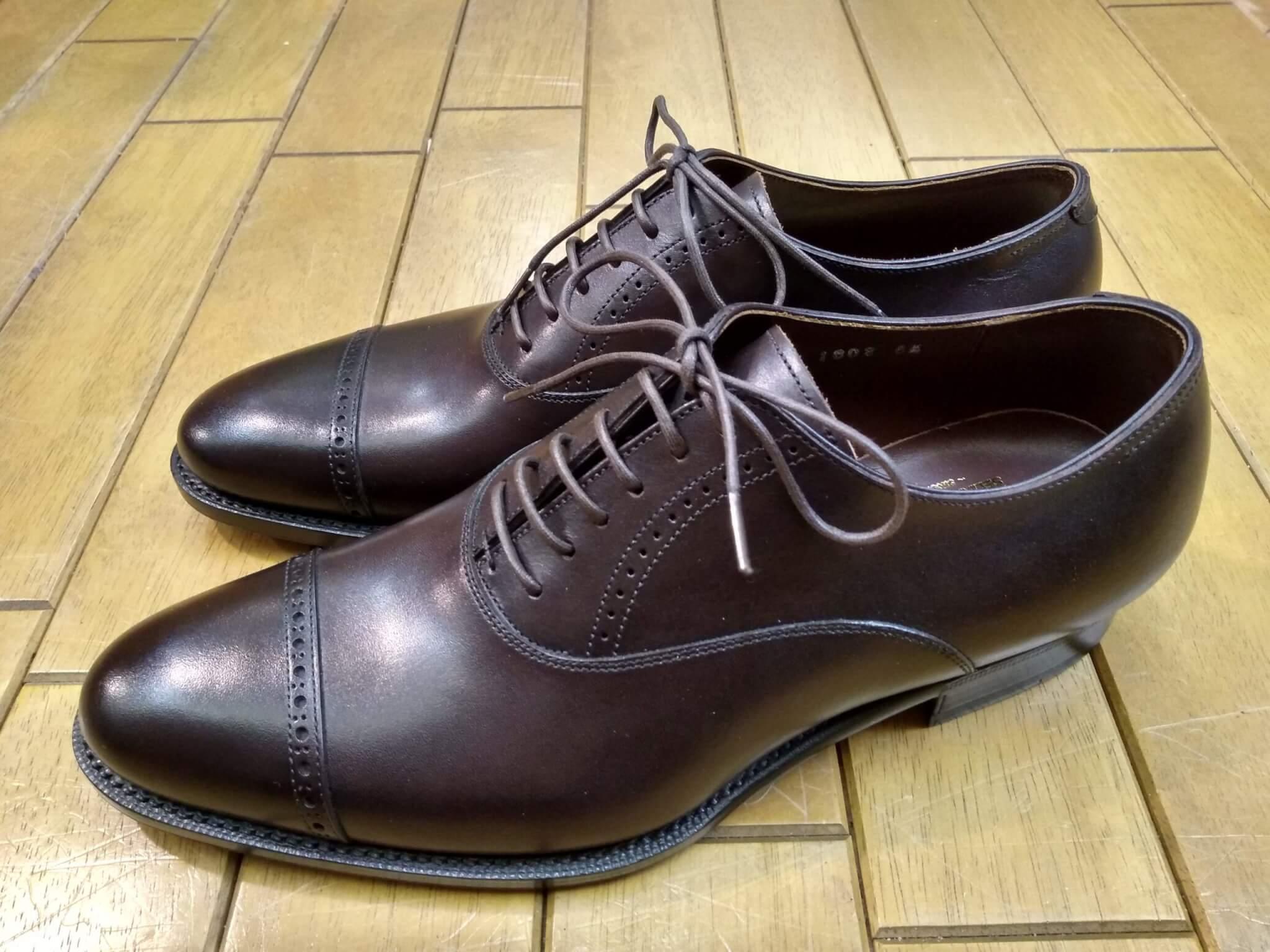 ビンテージ・トゥスチール取付の靴修理