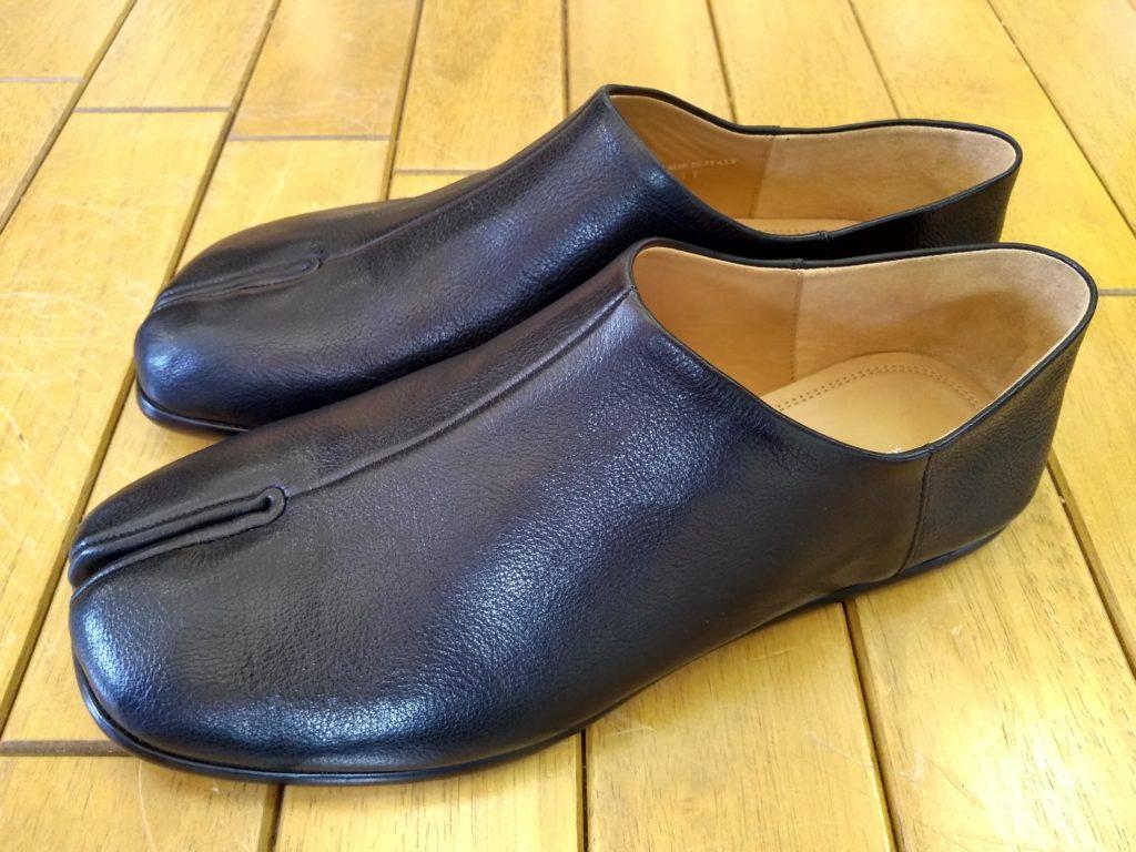 Maison MargielaのTABI靴修理