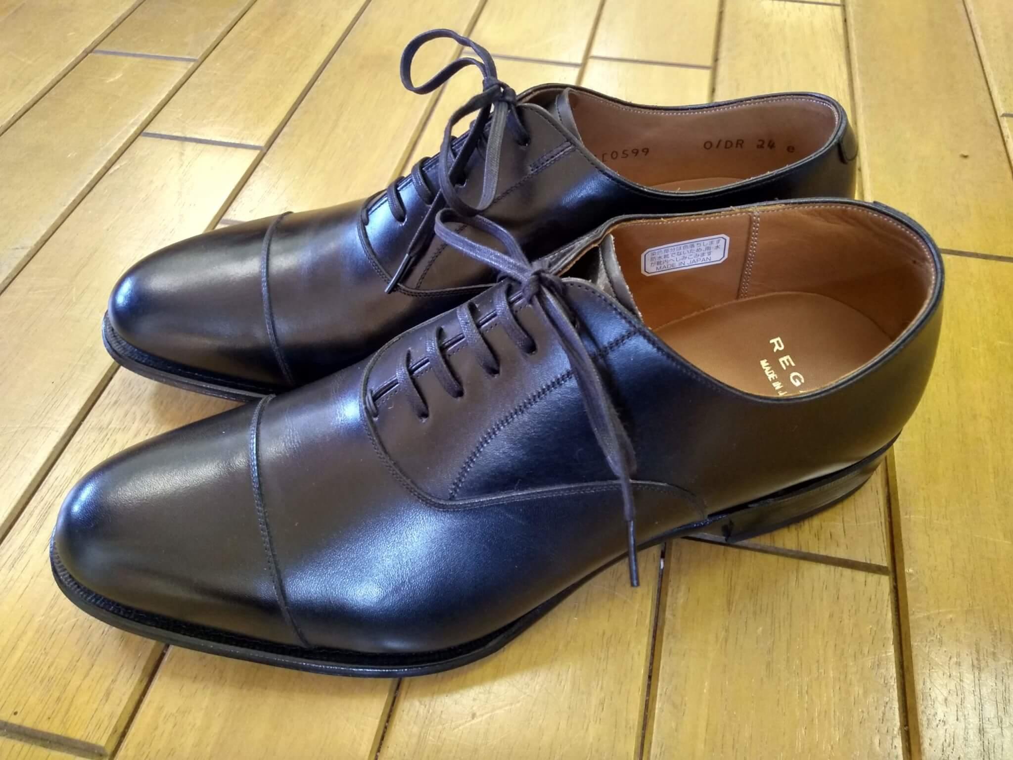 リーガル トゥスチール取付の靴修理